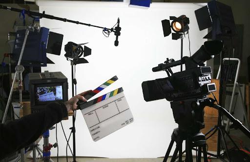процесс съемки видеоролика